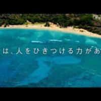パチンコメーカー SANYO の 企業CM「海の1日」篇。