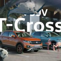Volkswagen Japan フォルクスワーゲン のCM 「T-Cross」篇。Tさい SUV。