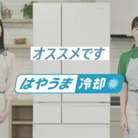綾瀬はるか が出演する パナソニック 冷蔵庫 のCM 「はやうま冷却 あら熱取り」篇「はやうま冷凍 から揚げ」篇「はやうま冷凍 パラパラ野菜」篇