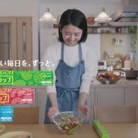 旭化成ホームプロダクツ サランラップ のCM 「切りたい猫」篇「山あり谷あり」篇。