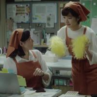 木村多江 門脇麦 が出演する リクルート Airシフト のCM 「バックヤード 応援」篇