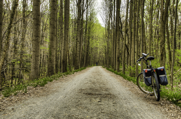 The Great Allegheny Passage for bikers and hikers