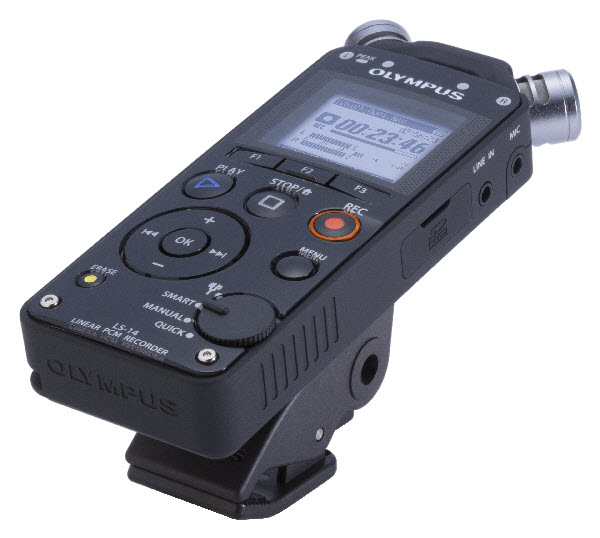 A digital recorder no pro should be without, the Olympus LS-14