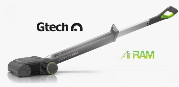 Gtech AirRam makes quick, easy work of vacuuming