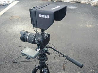 "Marshall 6"" external monitor"