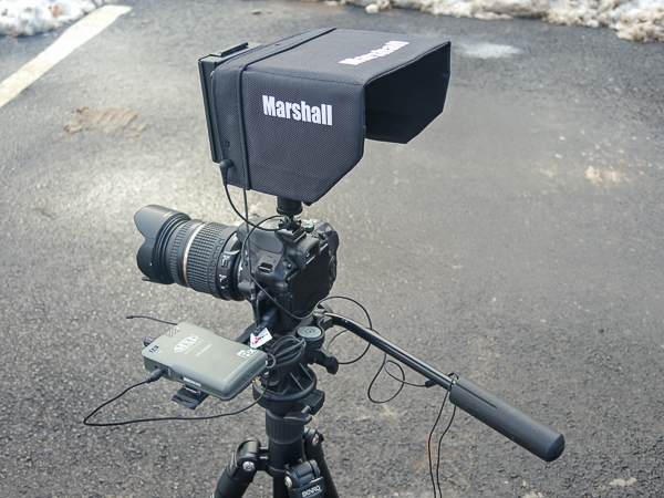 Marshall M-CT5 for off-camera monitoring