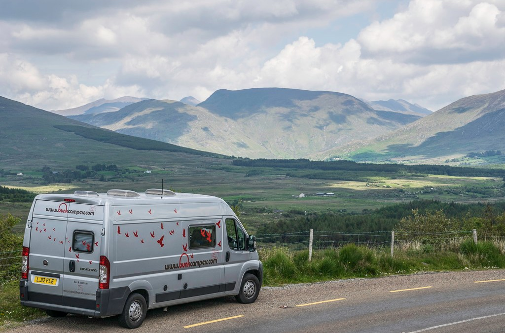 Bunk Campers enable you to travel independently in Ireland