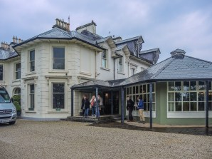 Rathmullan House, on the shores of Lough Swilly