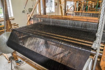 Studio Donegal where the Donegal Tweed is spun and woven.