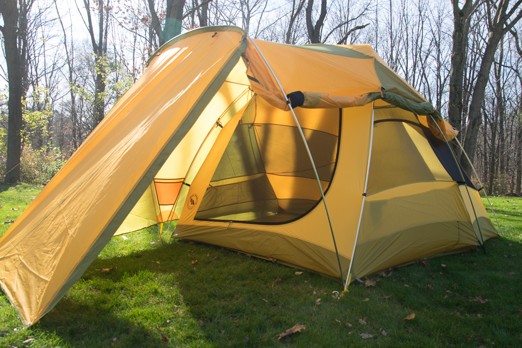 Big Agnes Tensleep Station 4 car c&ing tent & Tensleep Station 4 tent by Big Agnes u2013 review | Doug Bardwell