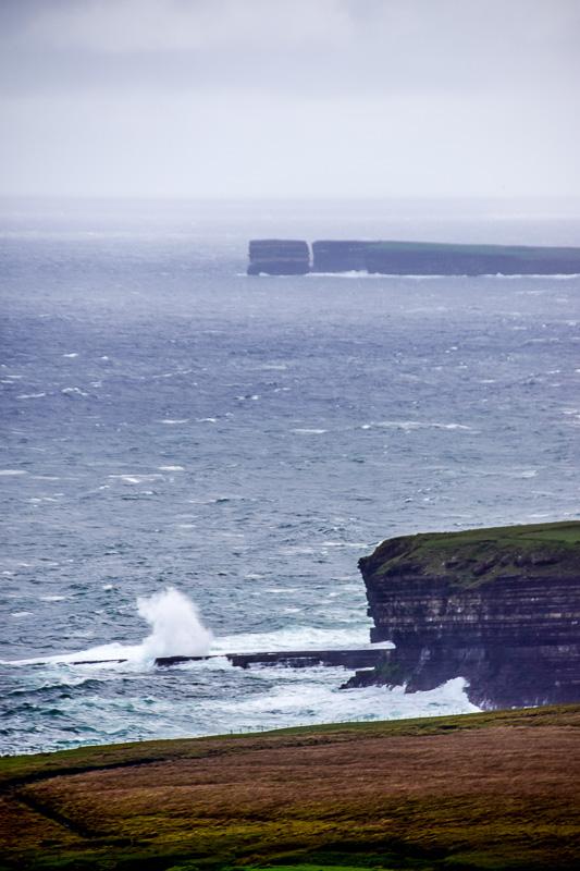 Sea Cliffs outside Ballycastle, County Mayo