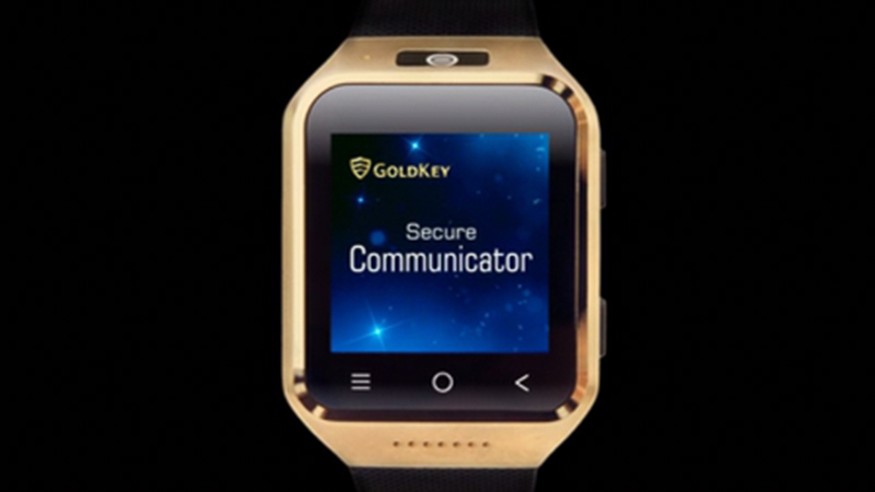GoldKey stands alone with its smartphone-smartwatch