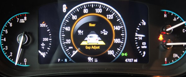 GAP control setting for the 2015 Buick Regal GS AWD