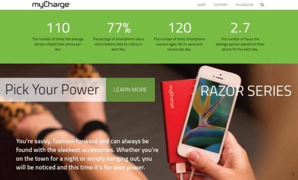 myCharge RazorPlus