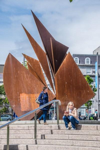 The Galway Hooker memorial