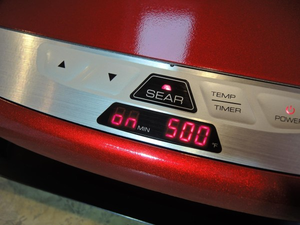 Sear feature on the George Foreman Evolve grill