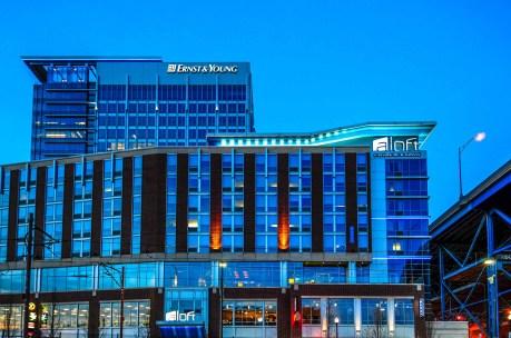 Aloft Cleveland Hotel