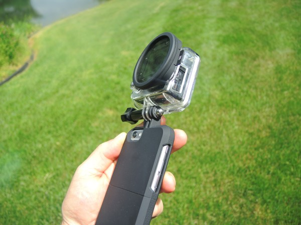 Now, a case that can mount your  GoPro