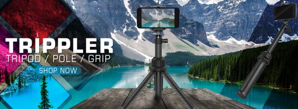 PolarPro Trippler is the ultimate selfie stick and travel tripod