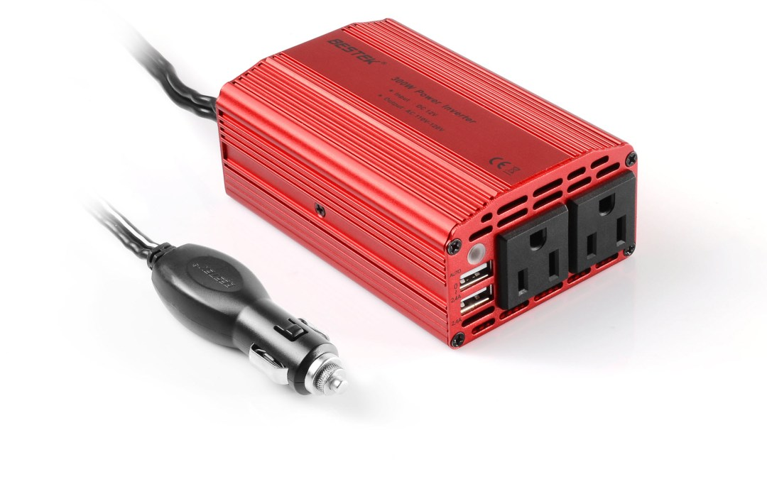 Bestek 300W Power Inverter brings joy to your travels