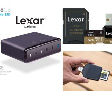 Lexar 1800x and 2933x memory cards offer amazing transfer rates for 4K video