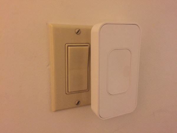 Switchmate even works on multiple switchplates