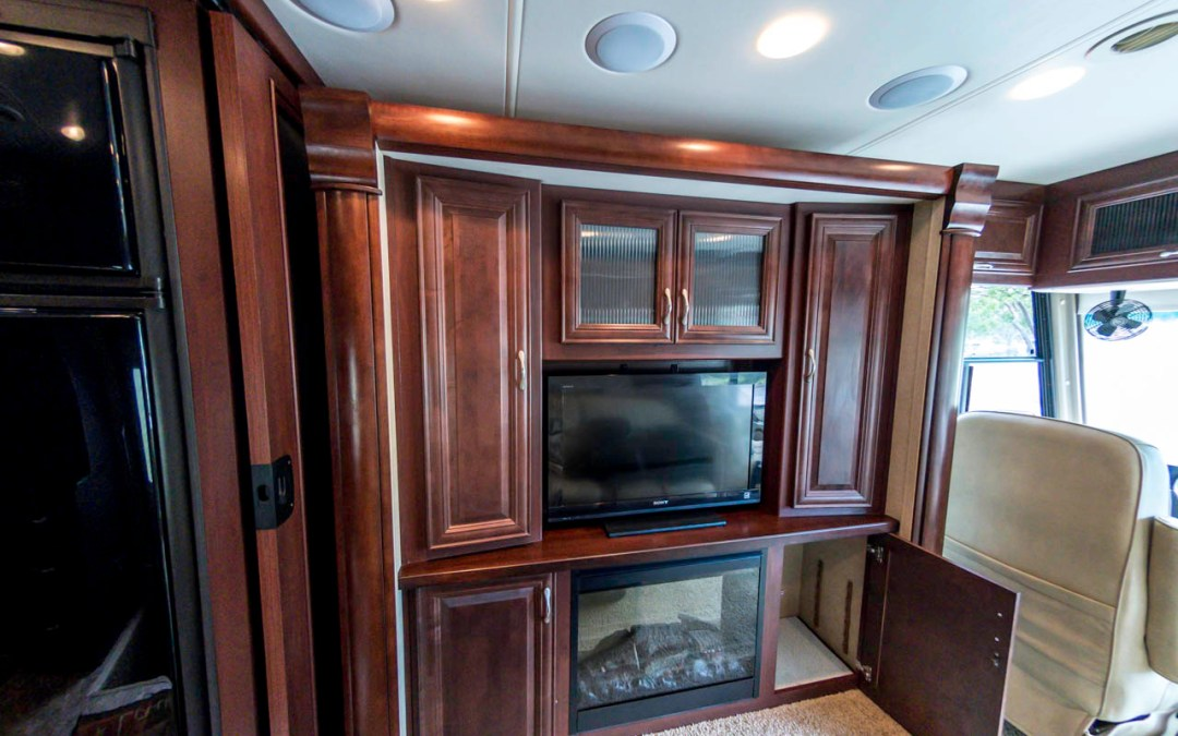 Touring the Class A RV – inside and out