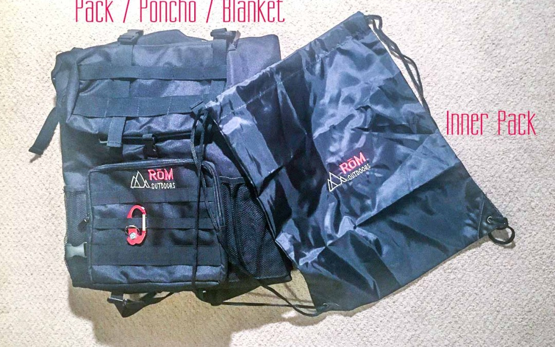 With RōM Pack from RōM Outdoors, you're ready for anything