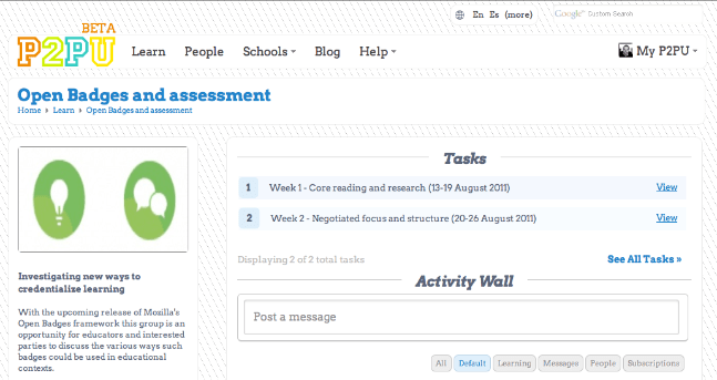 Open Badges and assessment