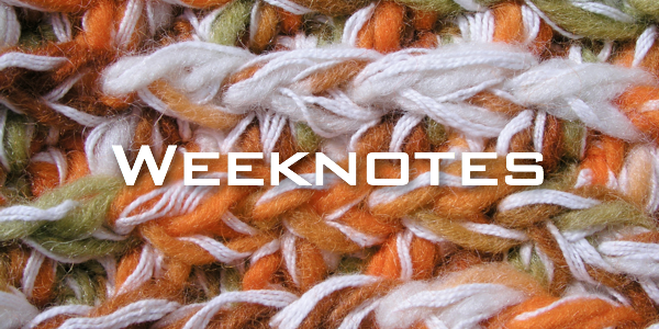 Weeknote 16/2013