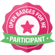 Open Badges for HE - Participant