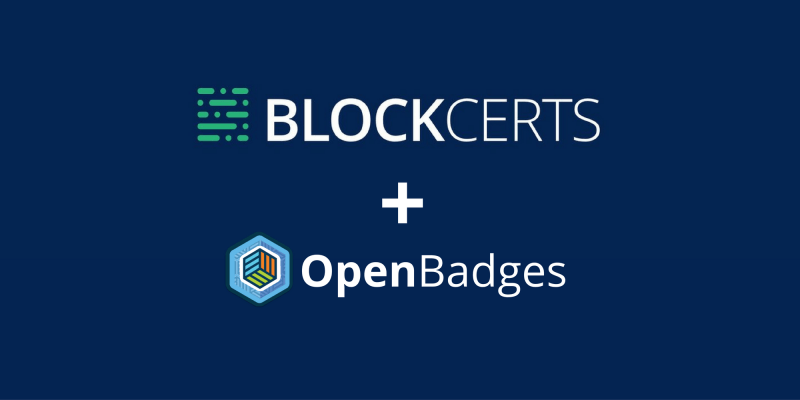 Blockcerts + Open Badges