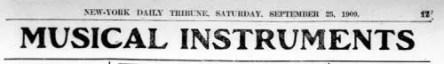 New York Daily Tribune - September 25, 1909