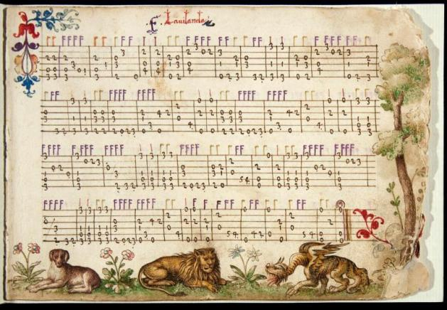 Tablature has been in use for a long time