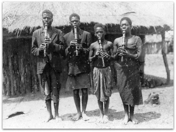 African recorder quartet