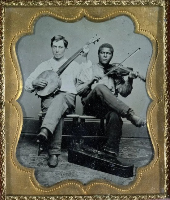 Banjo and fiddle duo