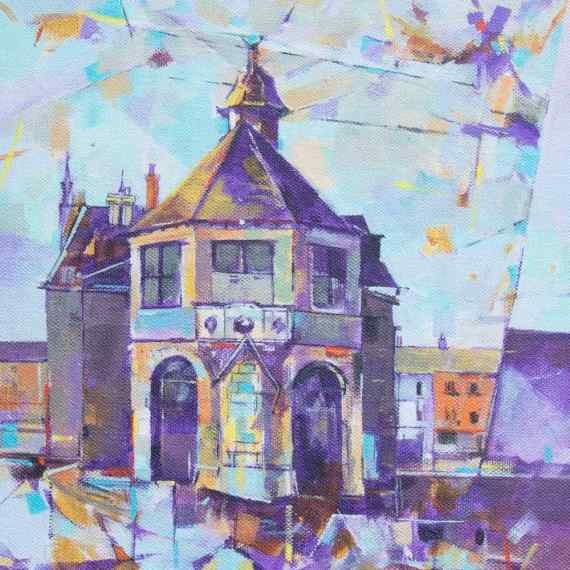 coleford-town-hall-painting