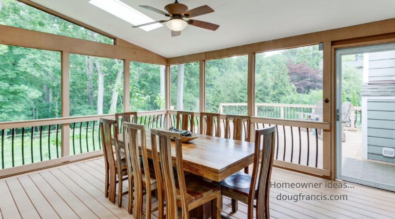 A Screened In Porch Addition Increases Lifestyle And Market