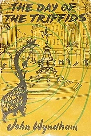 First Edition Cover of John Wyndham's Novel, The Day of the Triffids (1951)