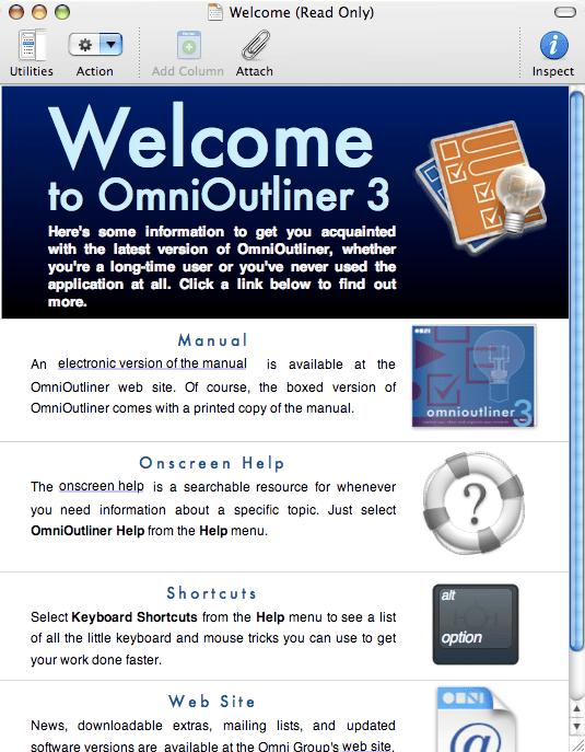 OmniOutliner
