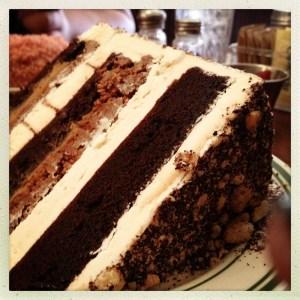 Nickel Diner cake
