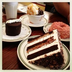 Nickel Diner Desserts