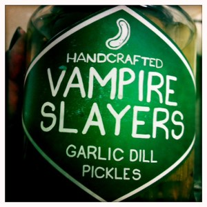 Vampire Slayers Pickles