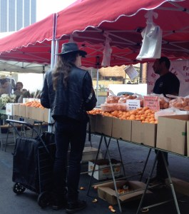 hollywood farmers market people