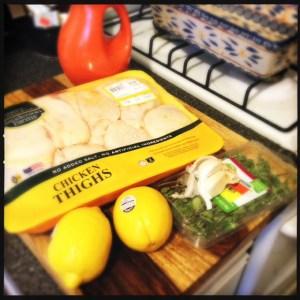 lemon and garlic chicken ingredients