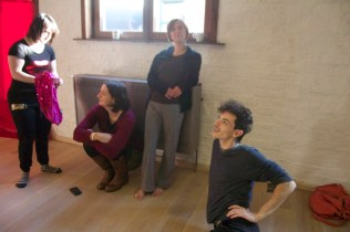 Platform K in rehearsal
