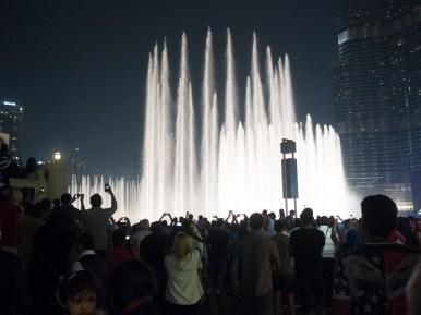 Dubai Mall water display. Street Photography Olympus 17mm f1.8.