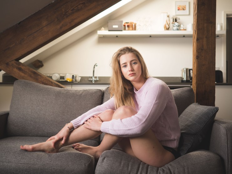 Around The House, portrait, sofa, olympus 17mm f1.8, em5 mark ii,