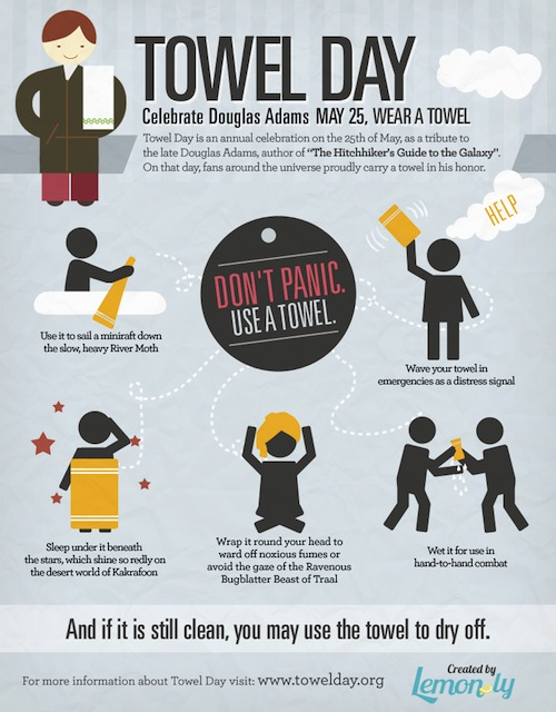 Happy Towel Day