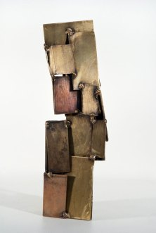 Small Wonder, 2010. Brass, bronze. 16 x 5 x 5 in.